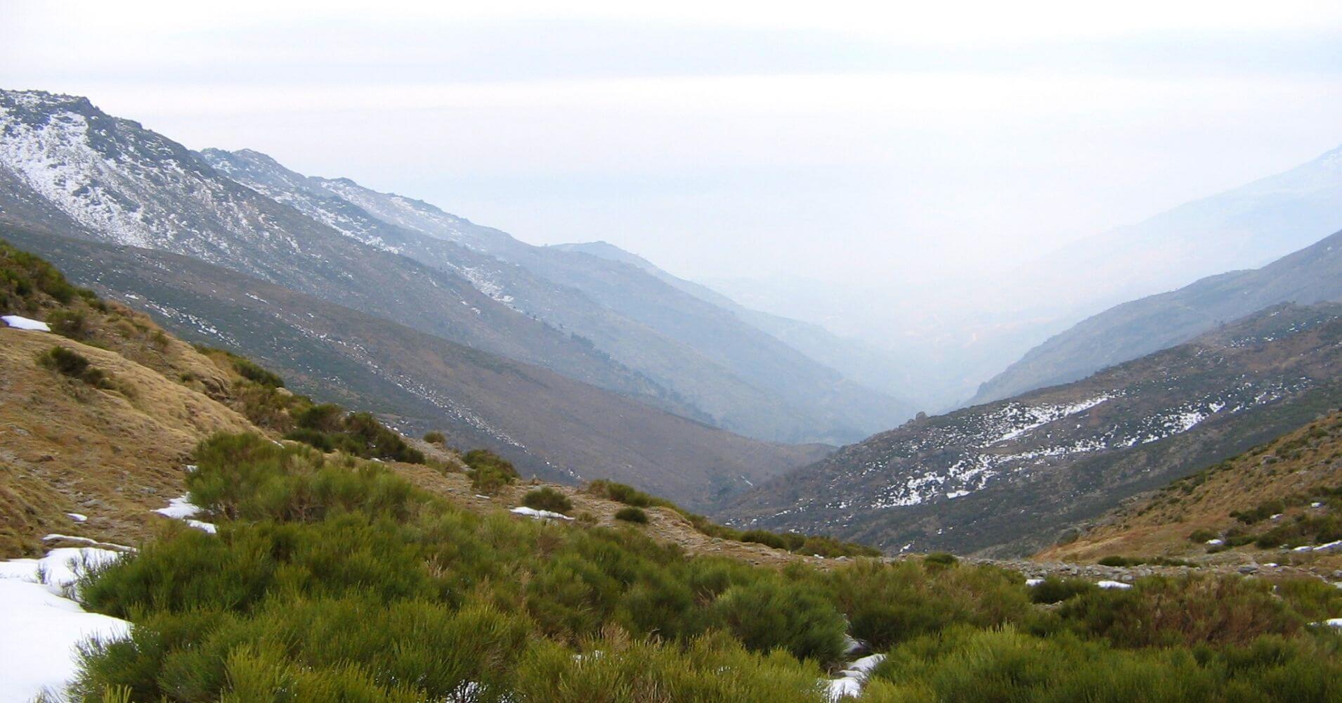 Puerto de Lagarejo. Sierra de Gredos. Pedro Bernardo, Ávila. Castilla y León.