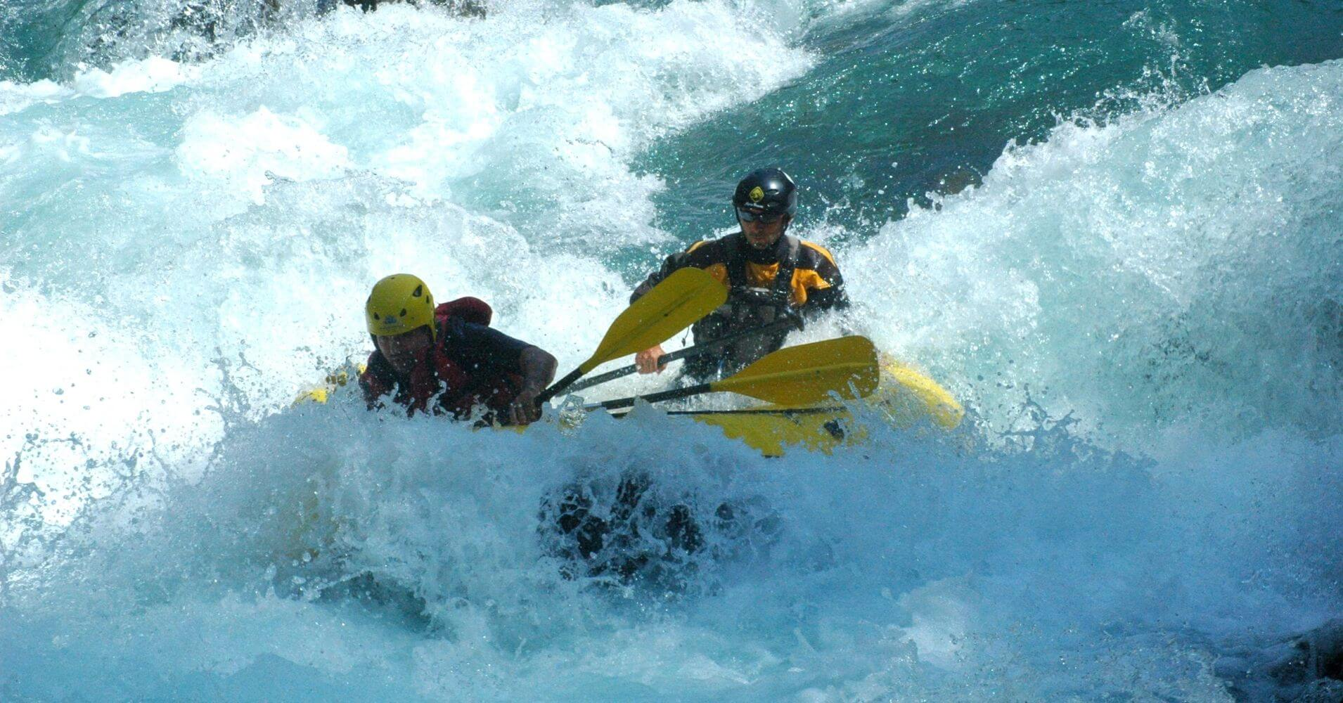 Rafting del Río Ara. Torla, Broto. Huesca.