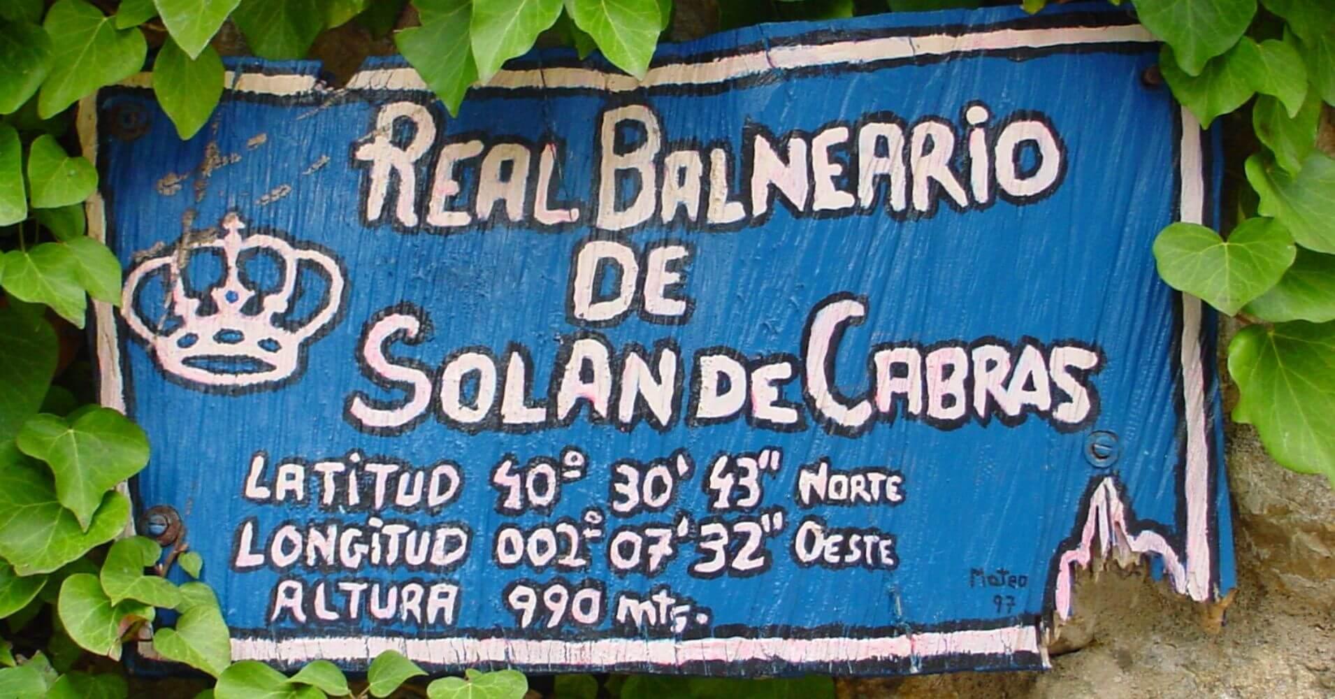 Real Balneario de Solán de Cabras. Cuenca, Castilla la Mancha.