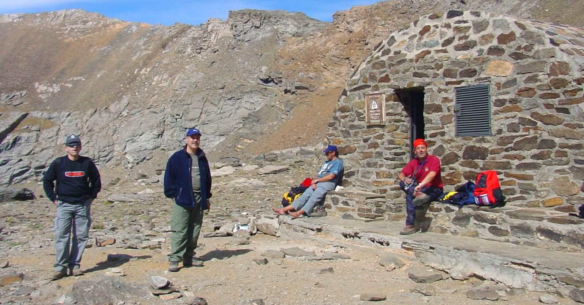 Refugio de la Caldera. Parque Nacional de Sierra Nevada. Granada. Andalucía.