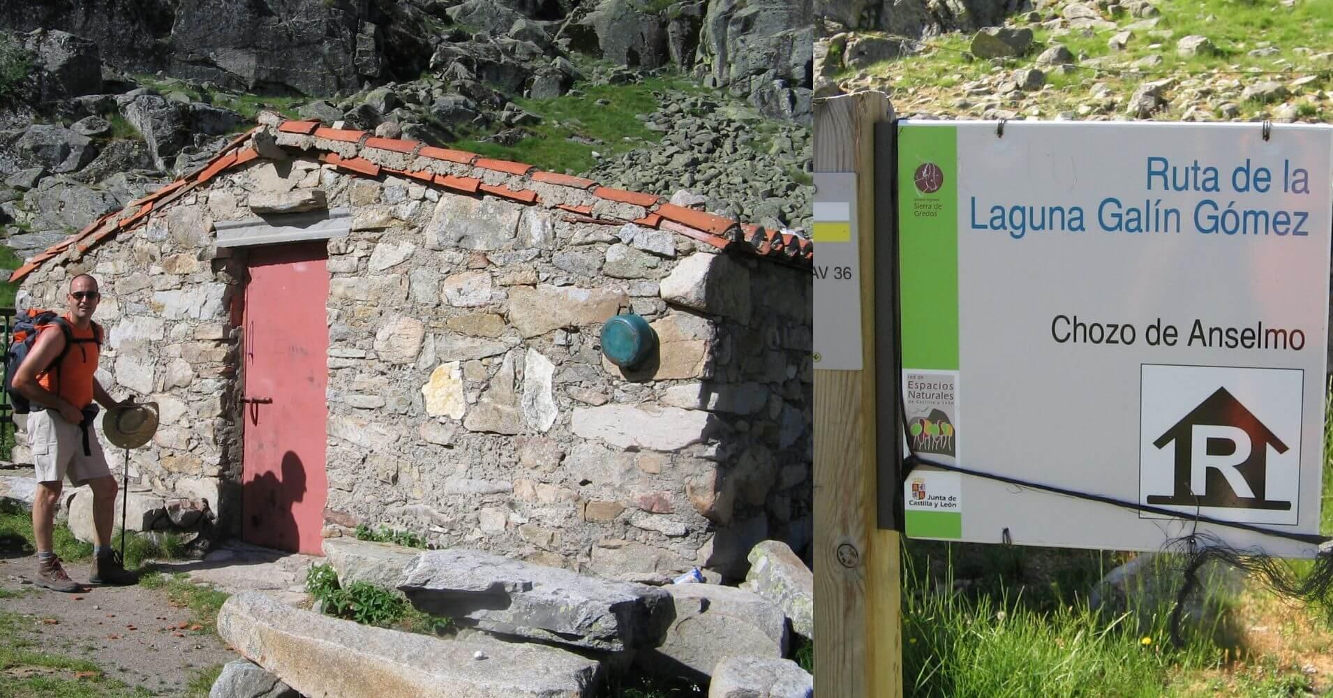 Refugio Majada de Anselmo, PR AV 36. Puerto Castilla. Ávila. Castilla y León.