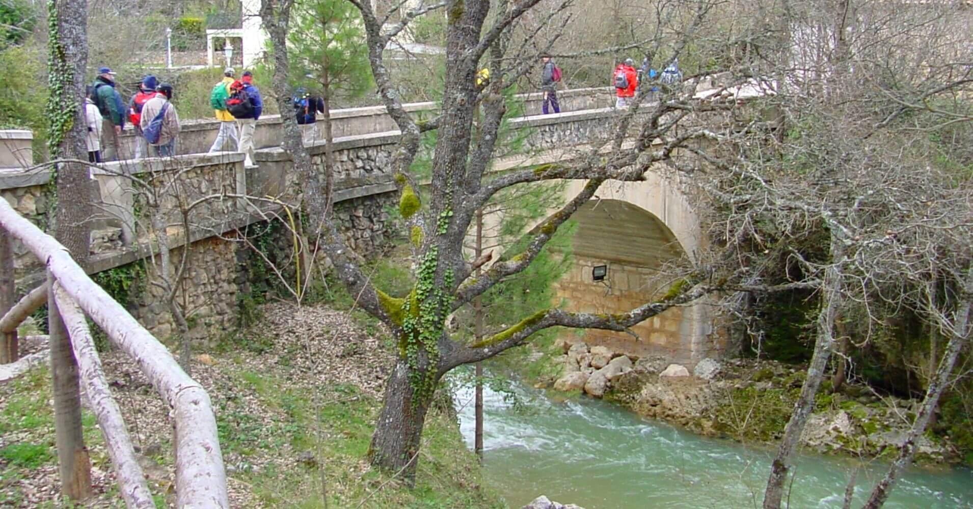 Puente del Río Cuervo. Cuenca, Castilla la Mancha.