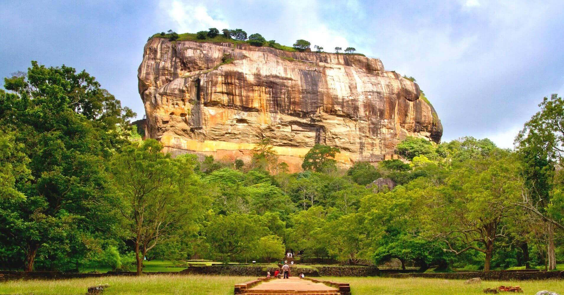 Roca de Sigiriya. Sri Lanka.
