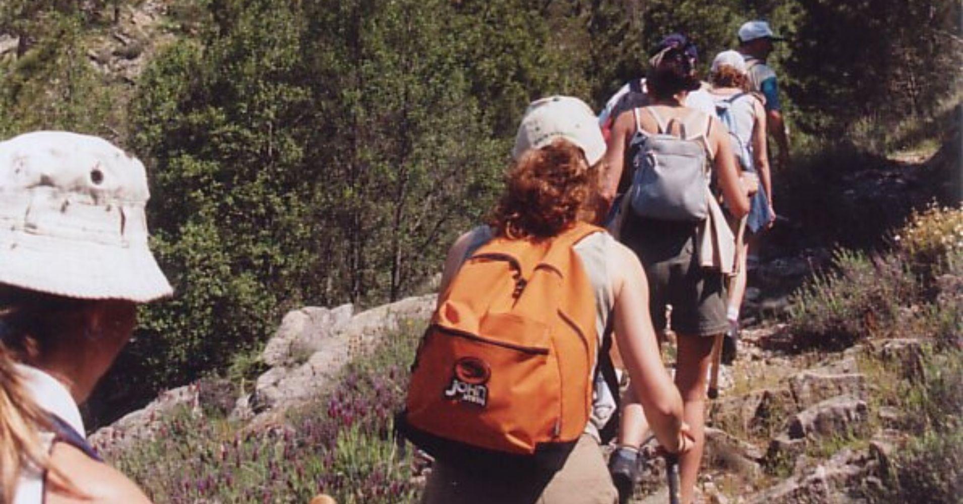 Ruta de Senderismo. Cumbres de La Adrada. Ávila.
