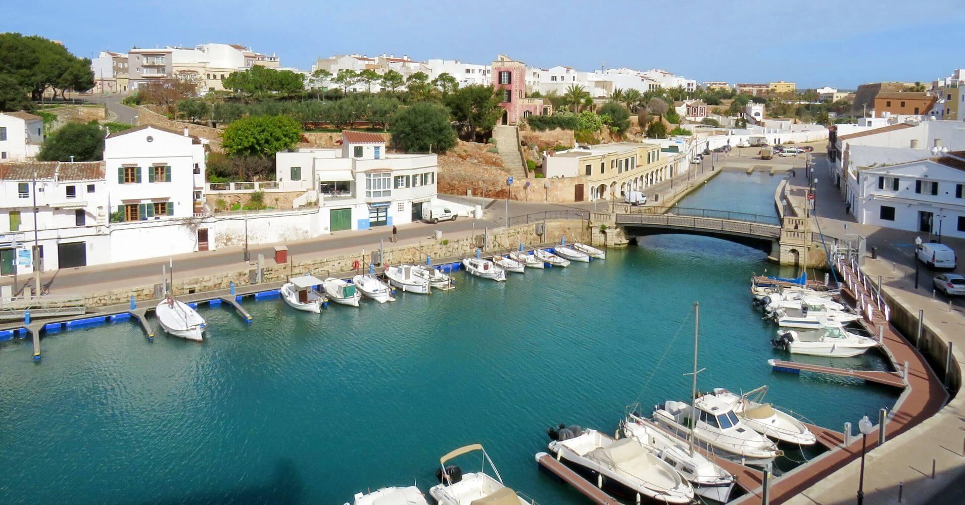 Siete días en Menorca. Puerto de Ciudadela. Menorca.