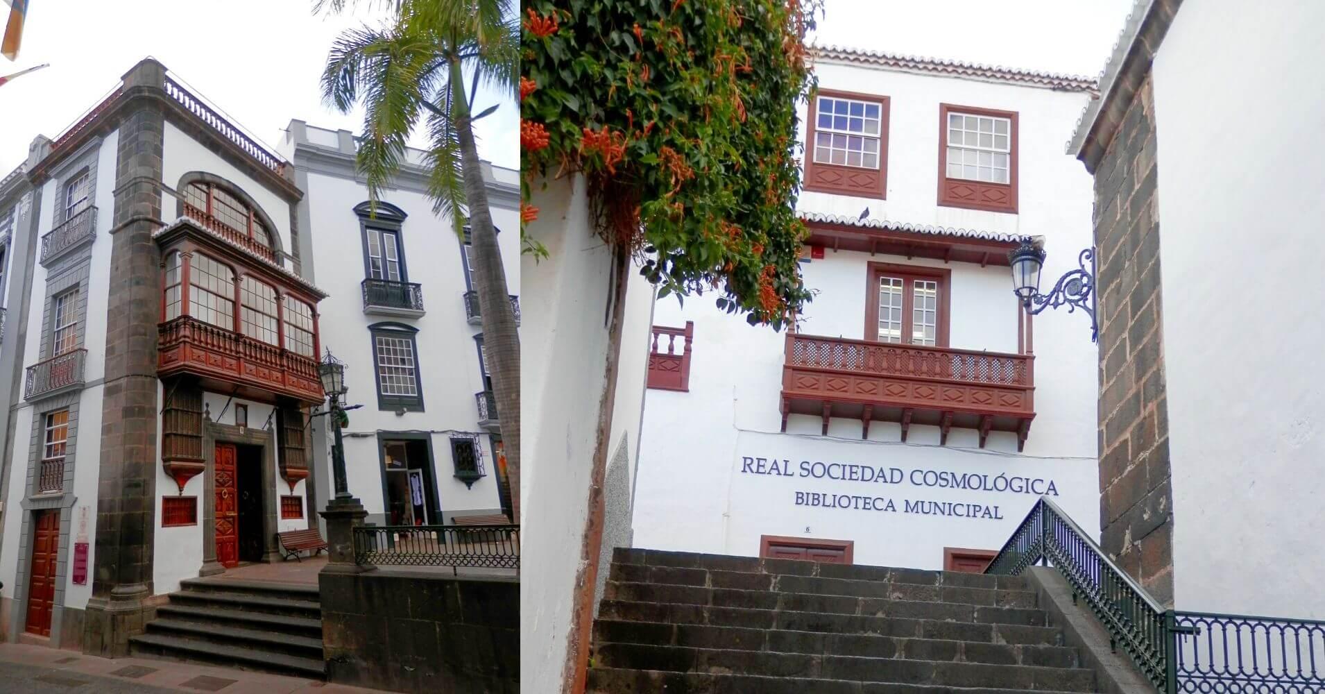 Sociedad Cosmologica. La Palma a Ritmo Lento. Islas Canarias.