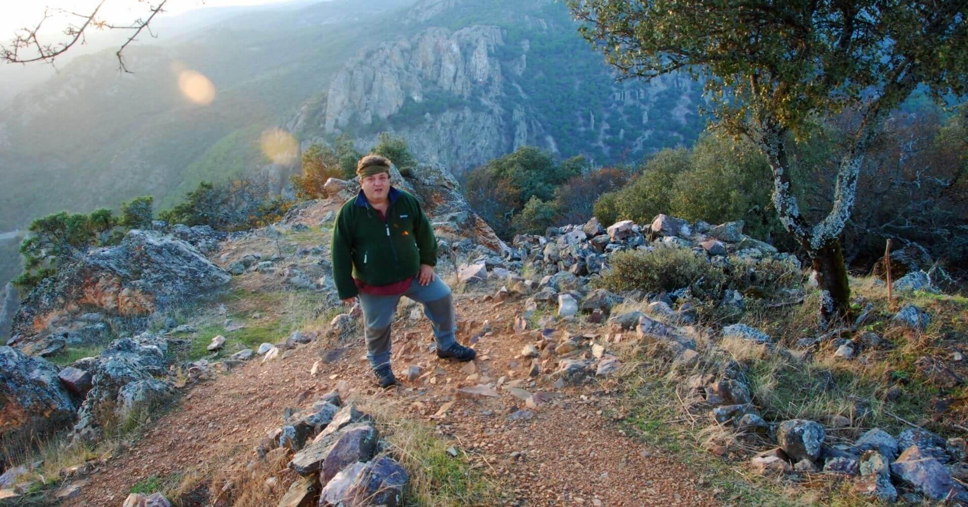 Subida al cerro del Castillo. Parque Natural de Despeñaperros. Jaén.