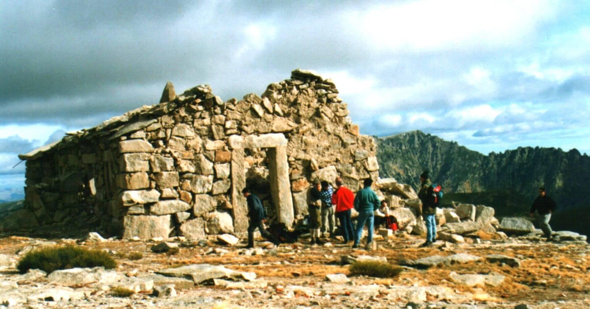 Subida al Pico Morezón. Refugio del Rey. Sierra de Gredos. Ávila. Castilla y León.