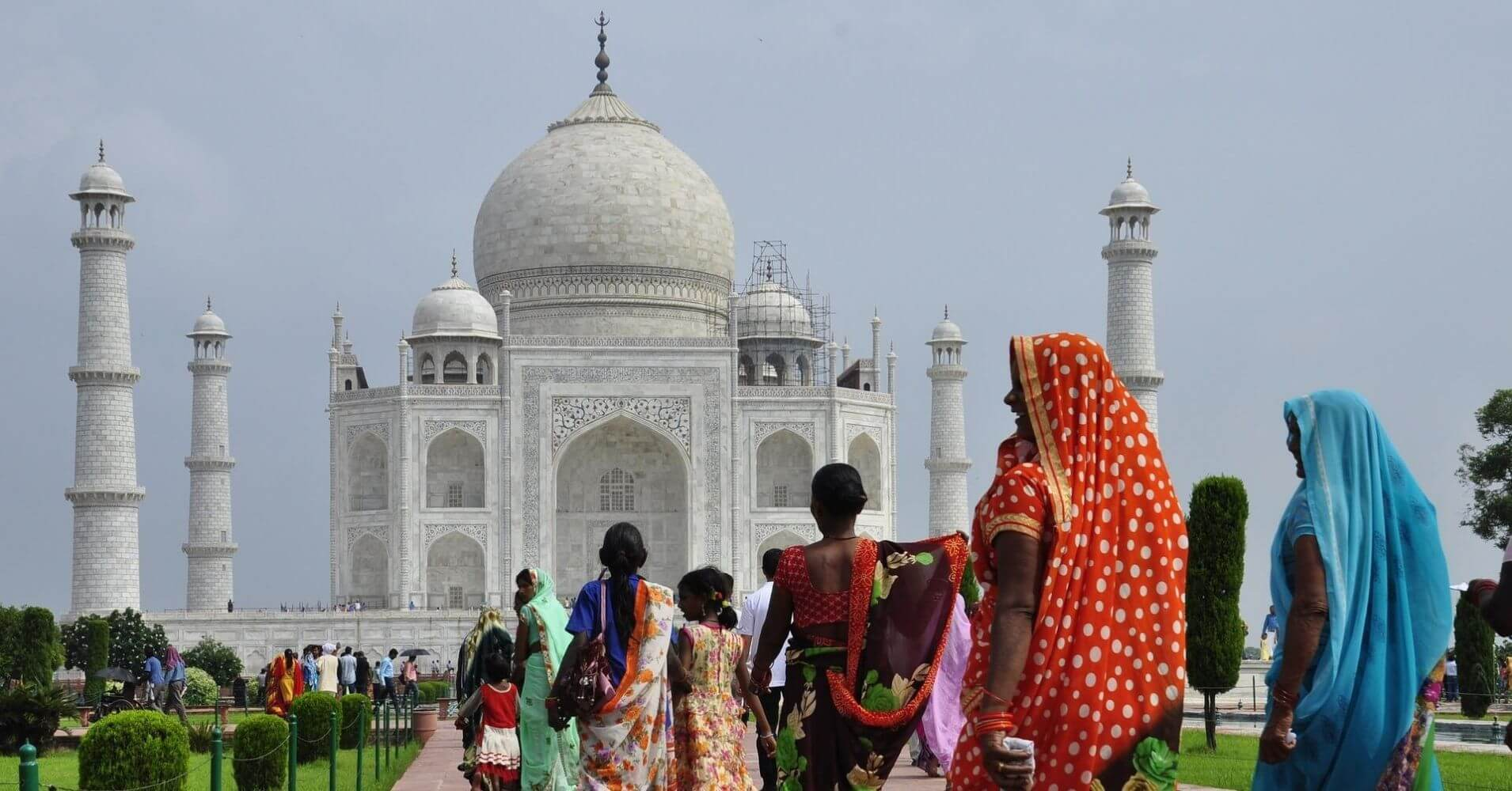Taj Mahal. Agra.