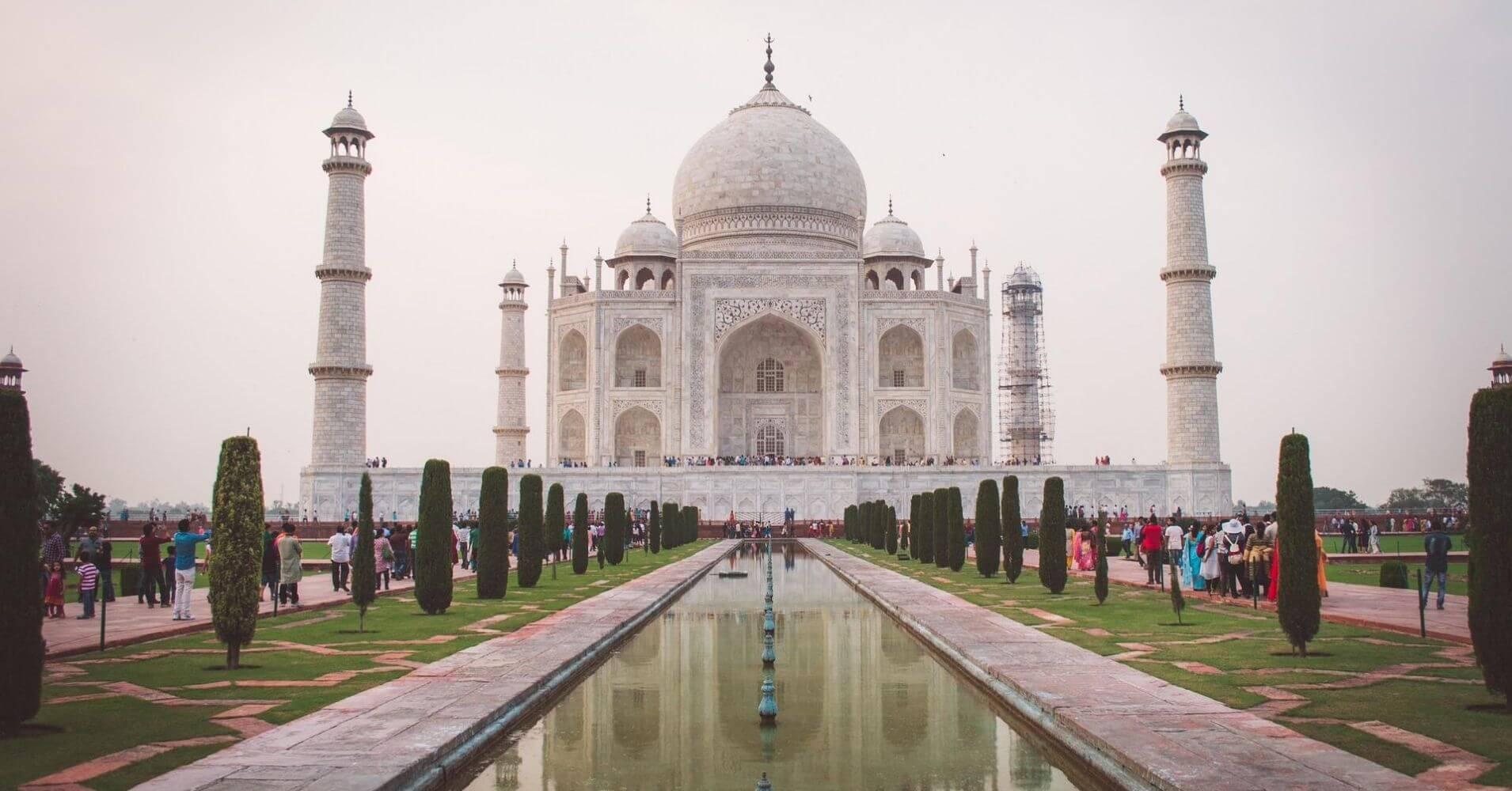Taj Mahal. India.