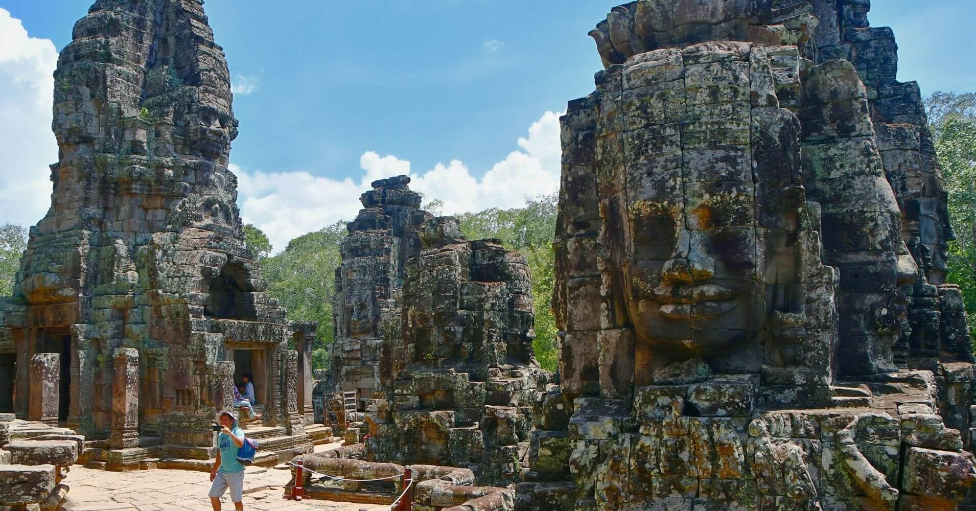 Templo de Bayón, el Templo de las Caras. Siem Reap. Camboya.