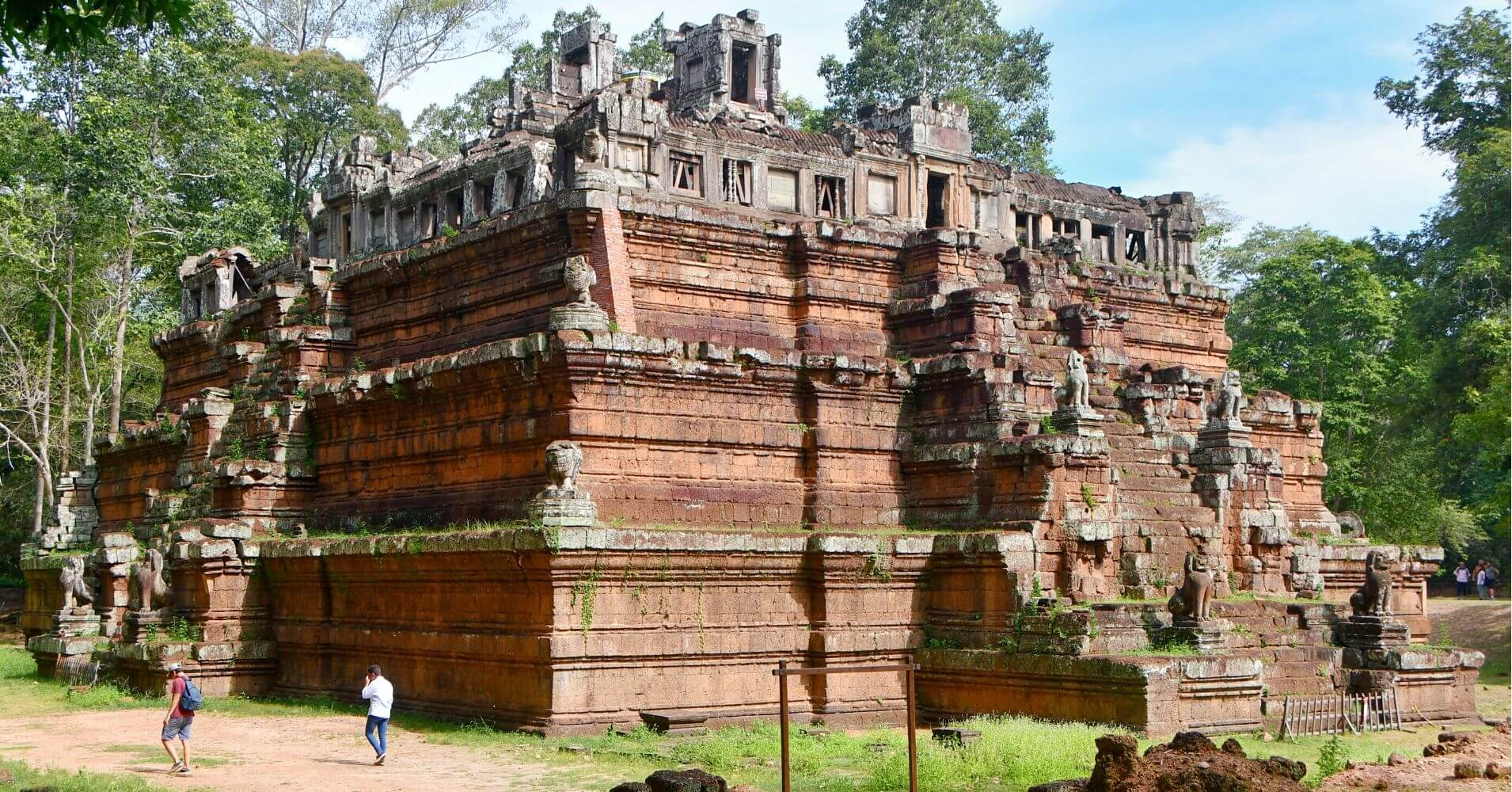 Templo de Phimeanakas, Siem Reap. Camboya.