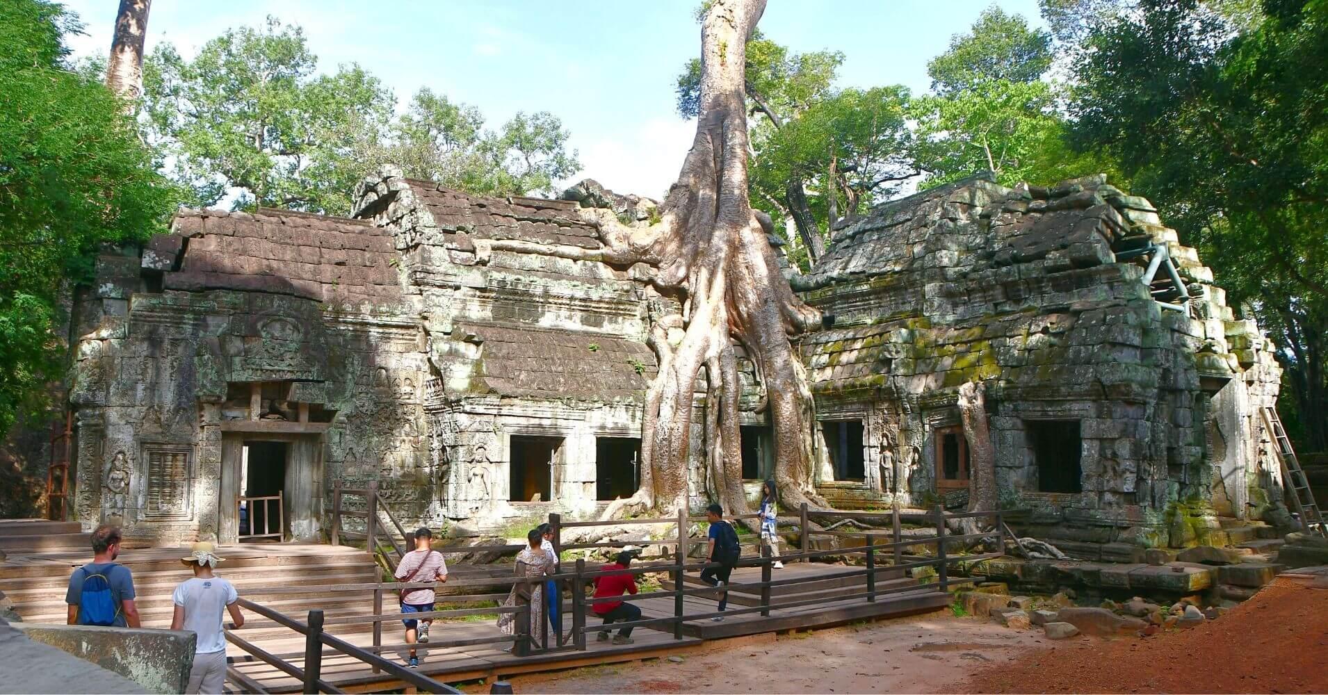 Templo de Ta Prohm. Siem Reap. Camboya.
