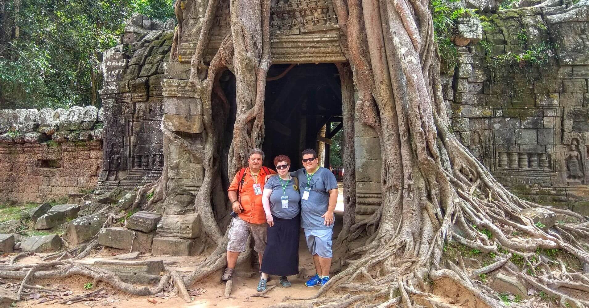 Templo de Ta Som. Siem Reap, Camboya.