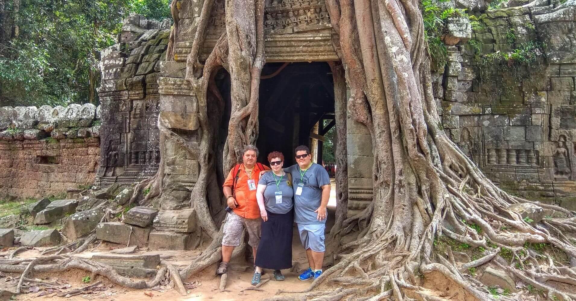 Templo de Ta Som, Siem Reap. Camboya.