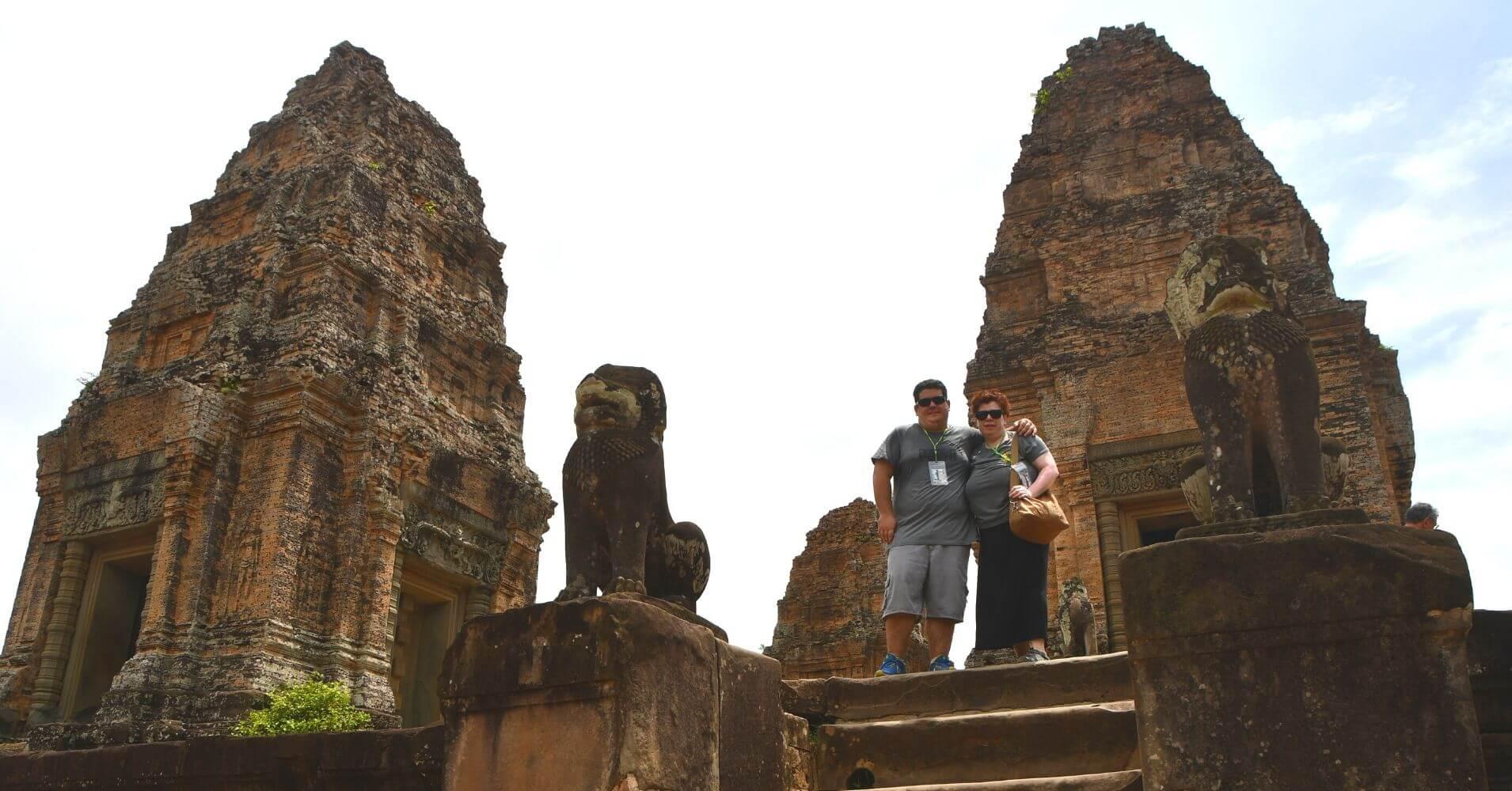 Templo East Mebon, Siem Reap. Camboya.