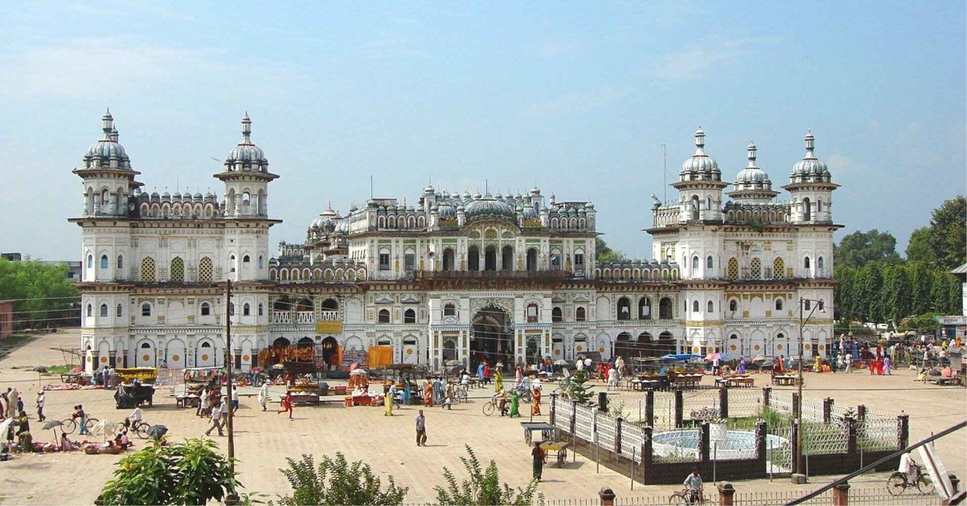 Templo Janki Mandir. Janakpur, Nepal.