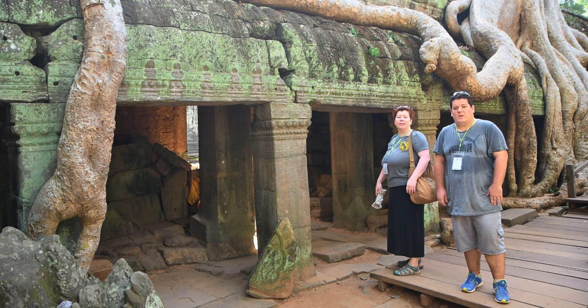 Templo Ta Prohm, Siem Reap. Camboya.