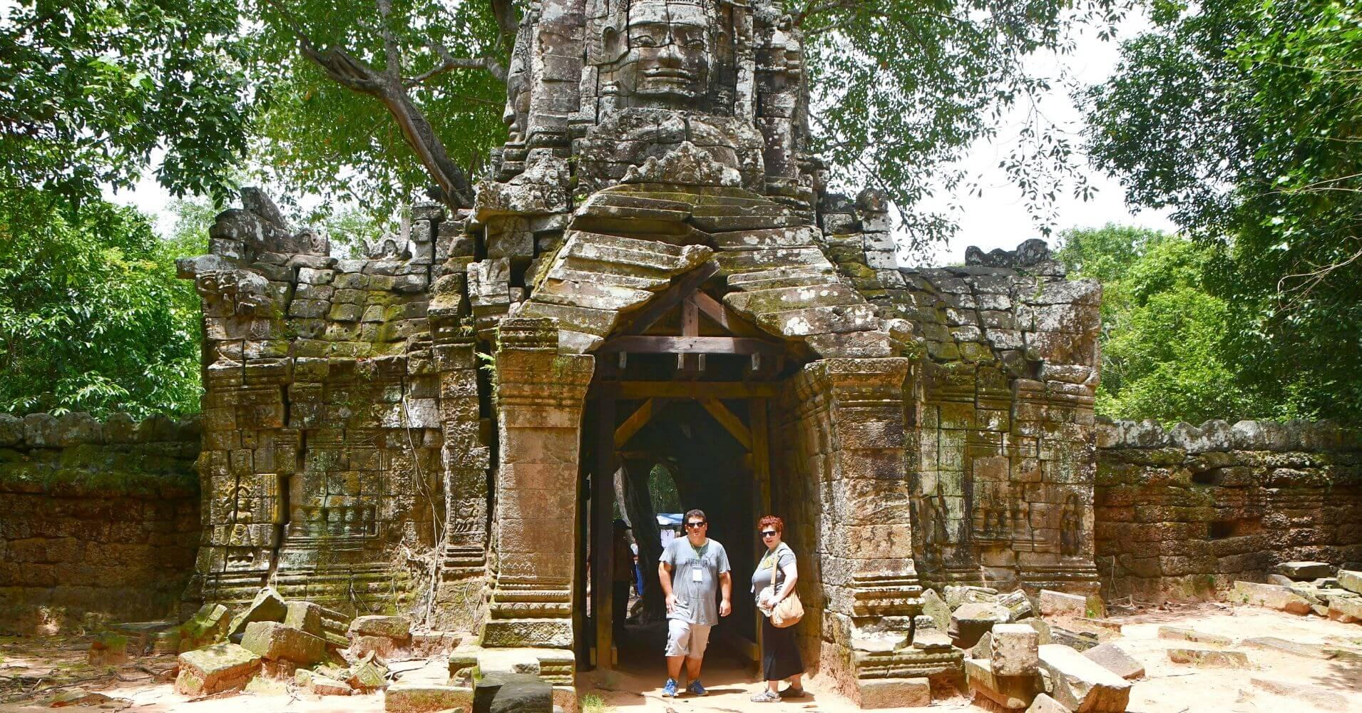 Templos de Angkor. Camboya.