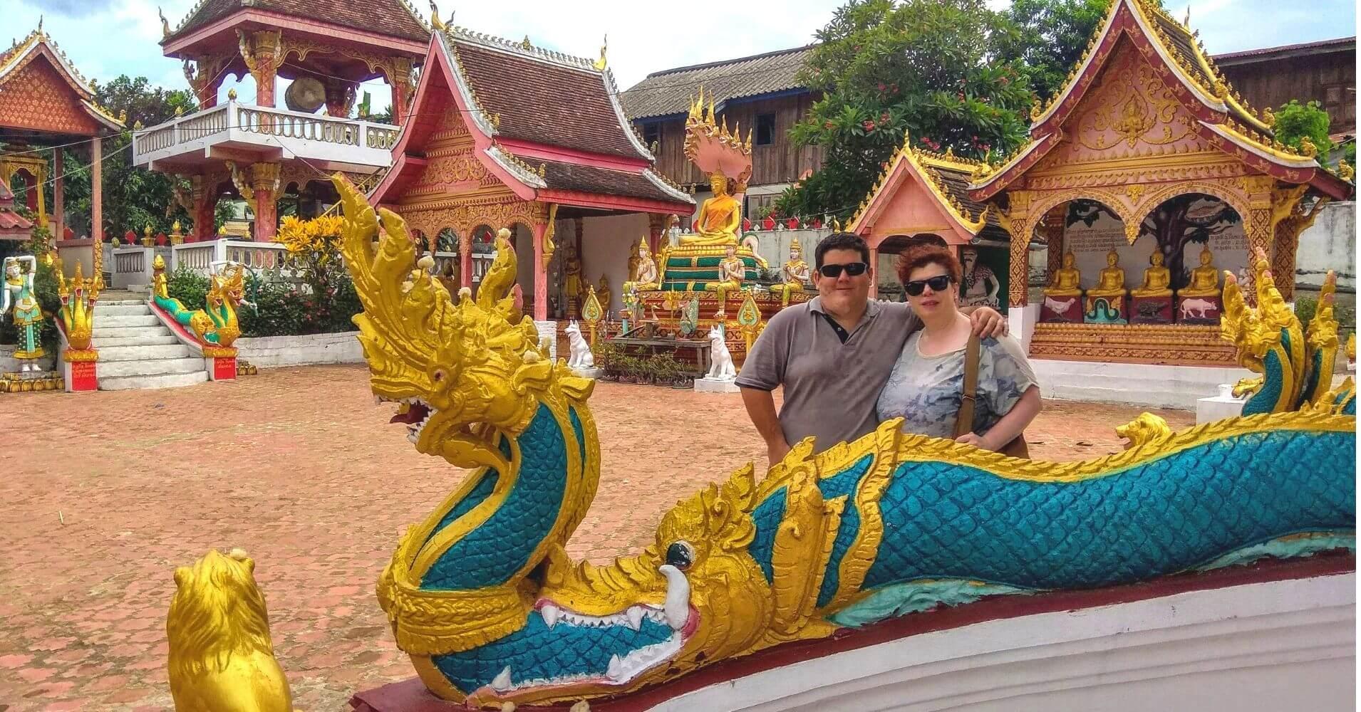 Templos de Luang Prabang. Laos.