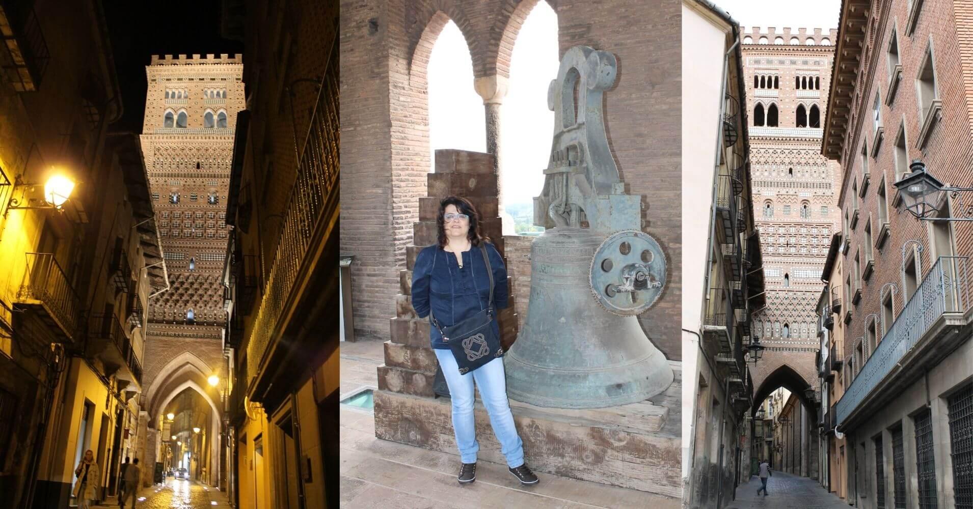 Torre e Iglesia de San Salvador. Teruel, Aragón.