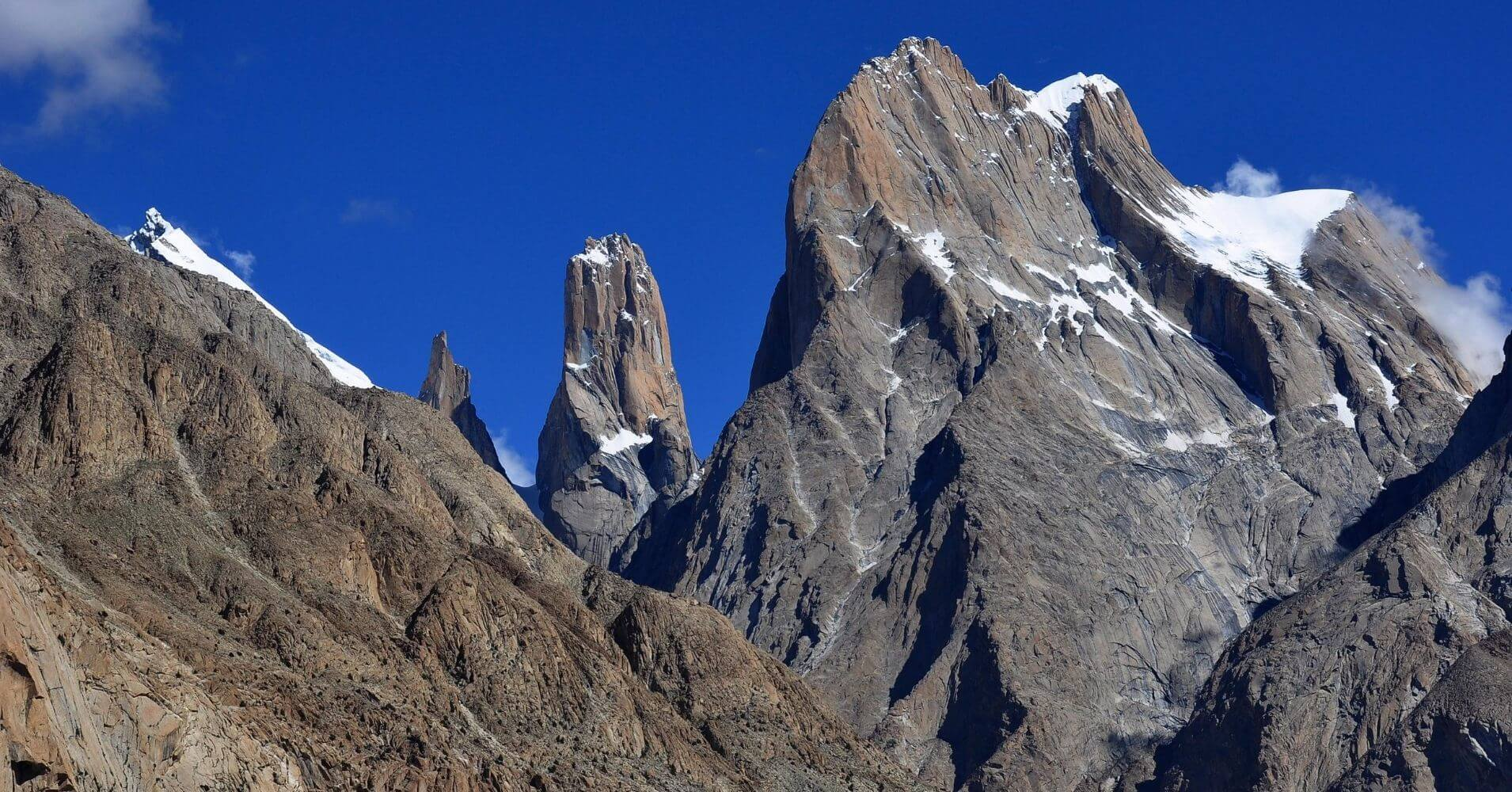 Torres del Trango, Pakistán.