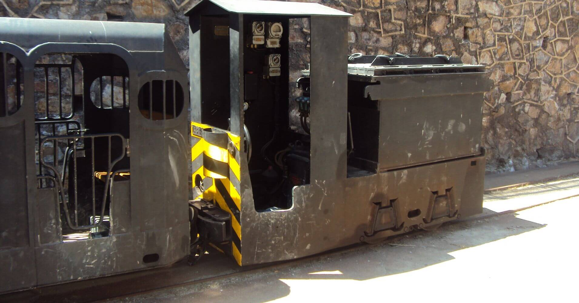 Tren de las Minas de Almadén. Ciudad Real, Castilla la Mancha.