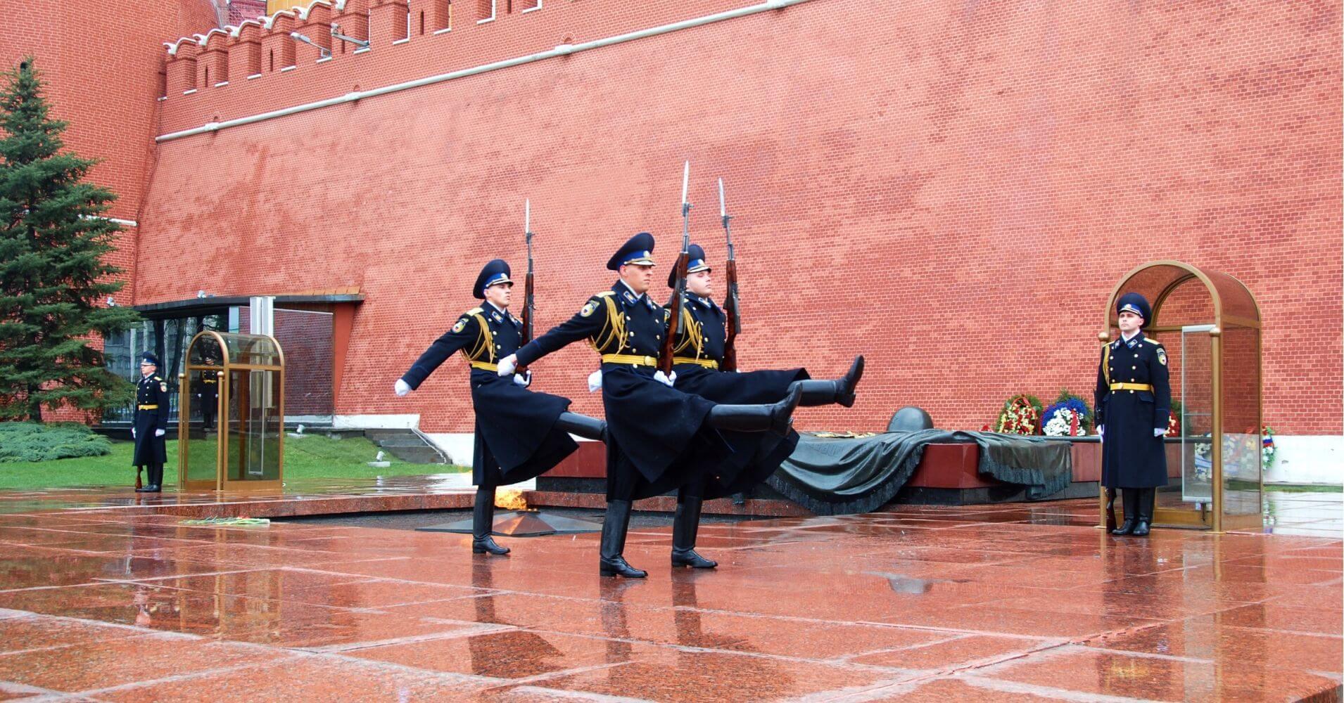 Tumba del Soldado Desconocido, Rusia.