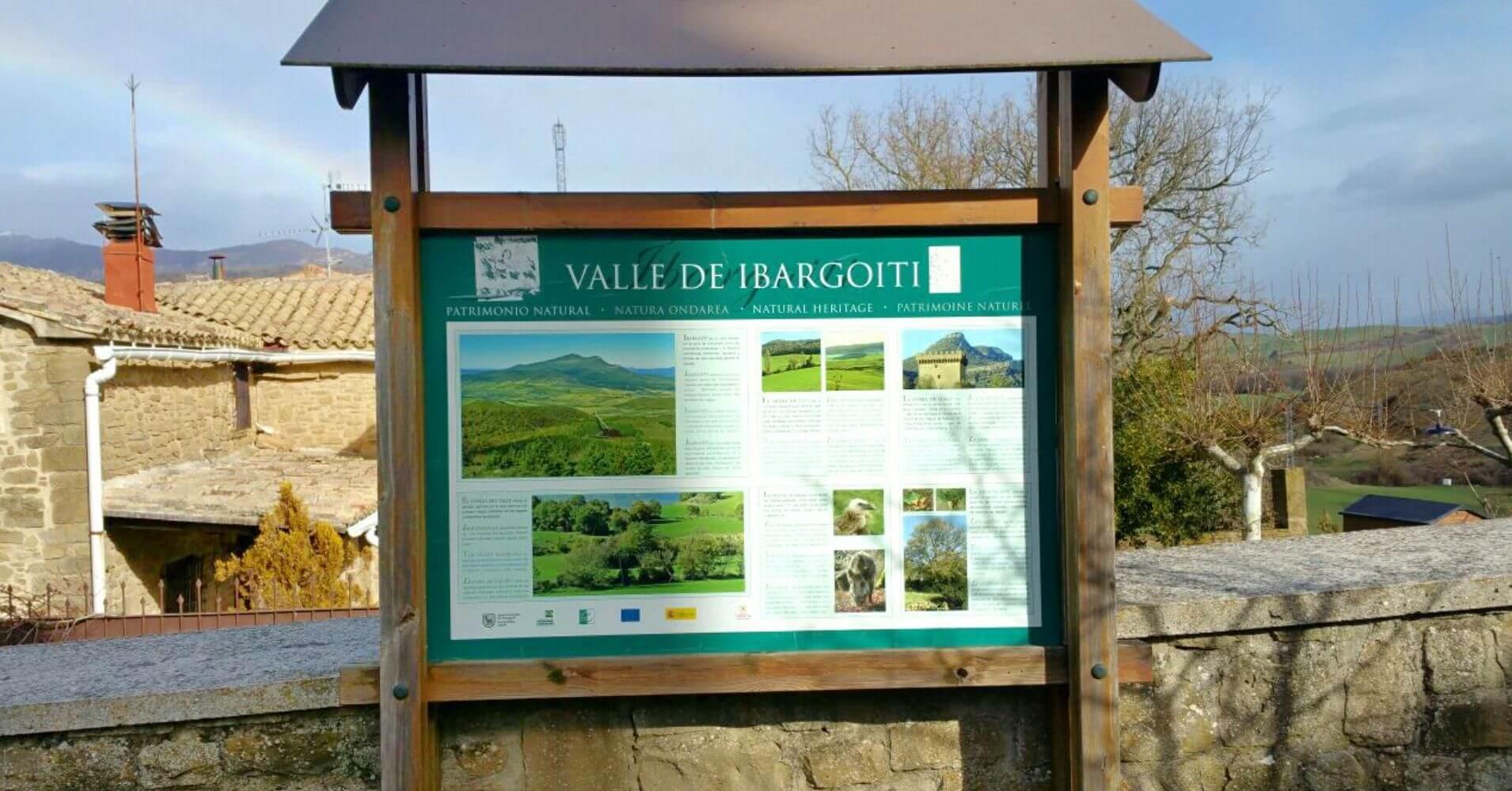 Valle y Salinas de Ibargoiti. Navarra.