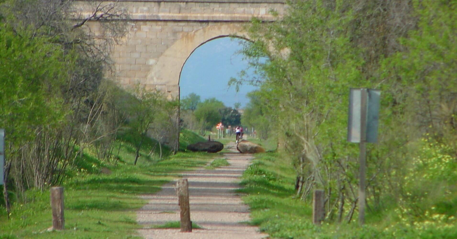 Vía Verde de la Jara. Calera y Chozas. Toledo, Castilla la Mancha.