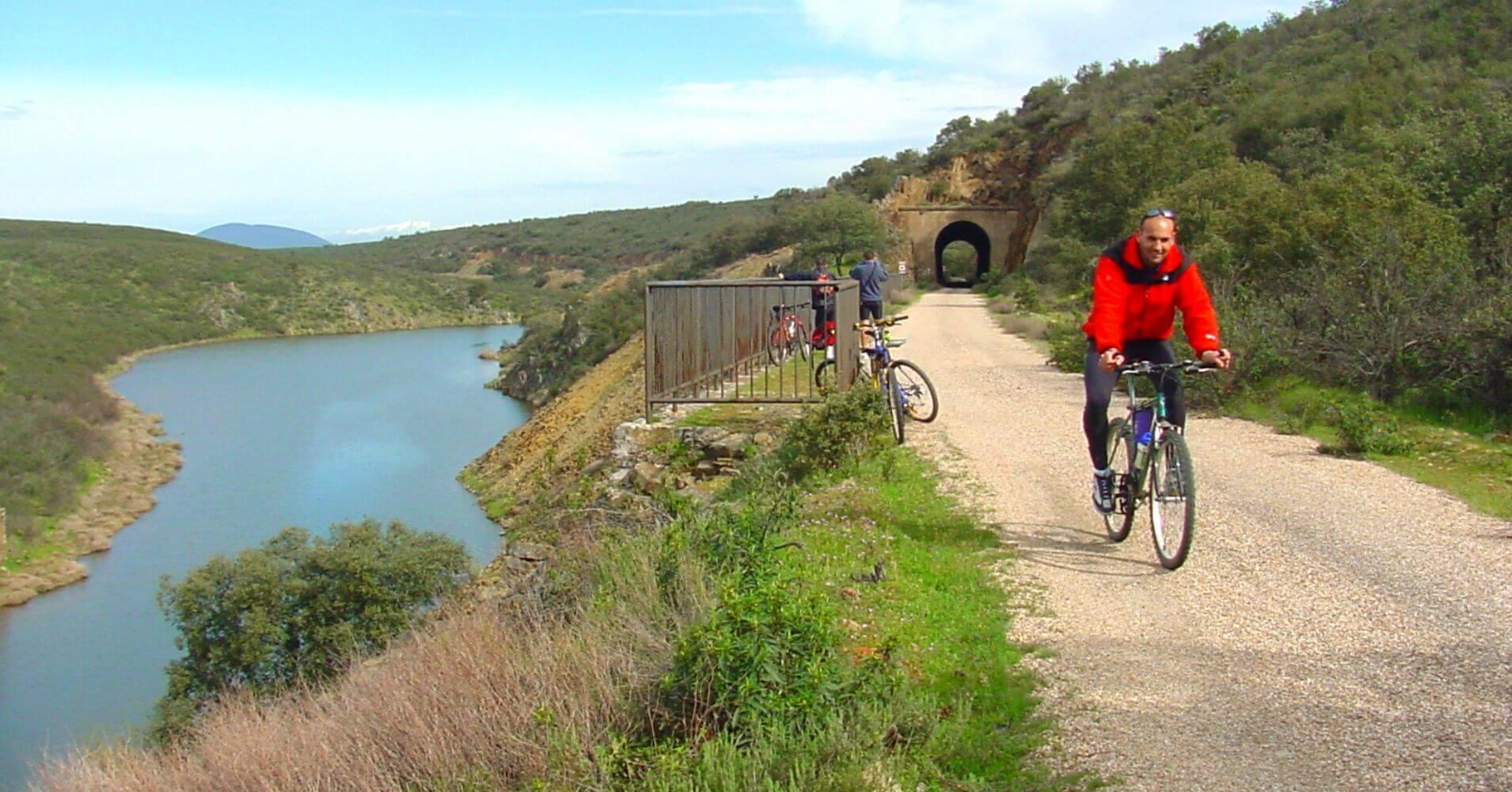 Vía Verde de la Jara. Toledo, Castilla la Mancha.