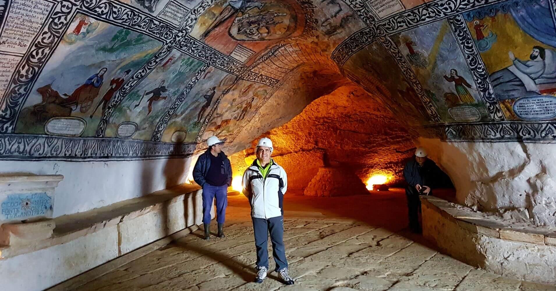 Cueva Ermita de San Bernabé. Las Merindades. Burgos.
