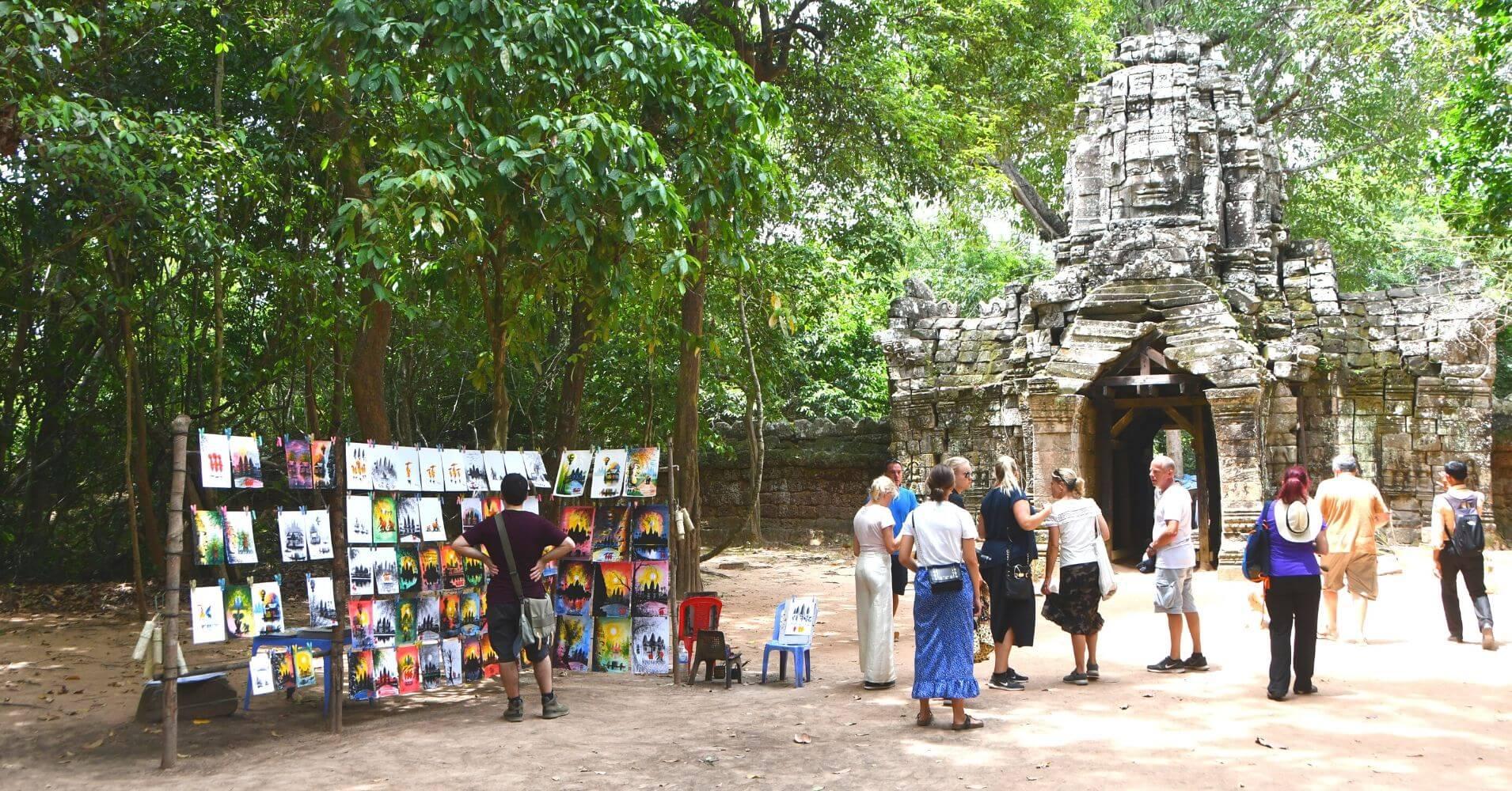 Visita a los Templos de Angkor. Siem Reap. Camboya.
