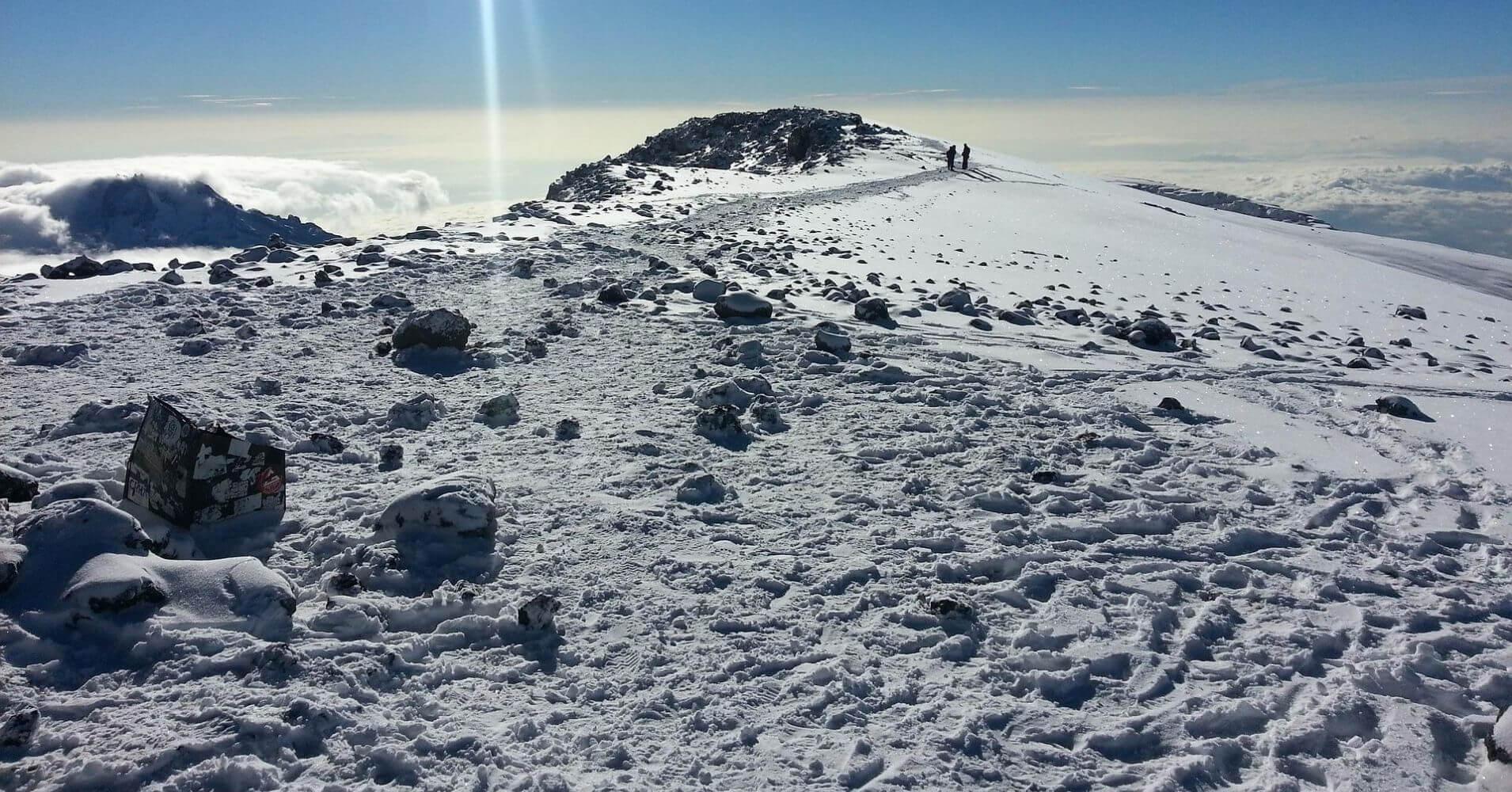 Volcán del Kilimanjaro, Tanzania.