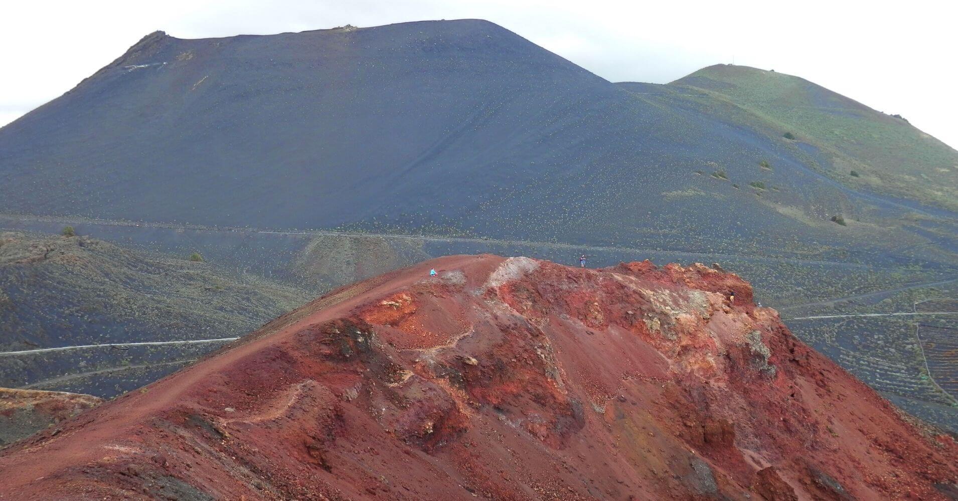Volcán San Antonio y Teneguía. Isla de La Palma. Islas Canarias.