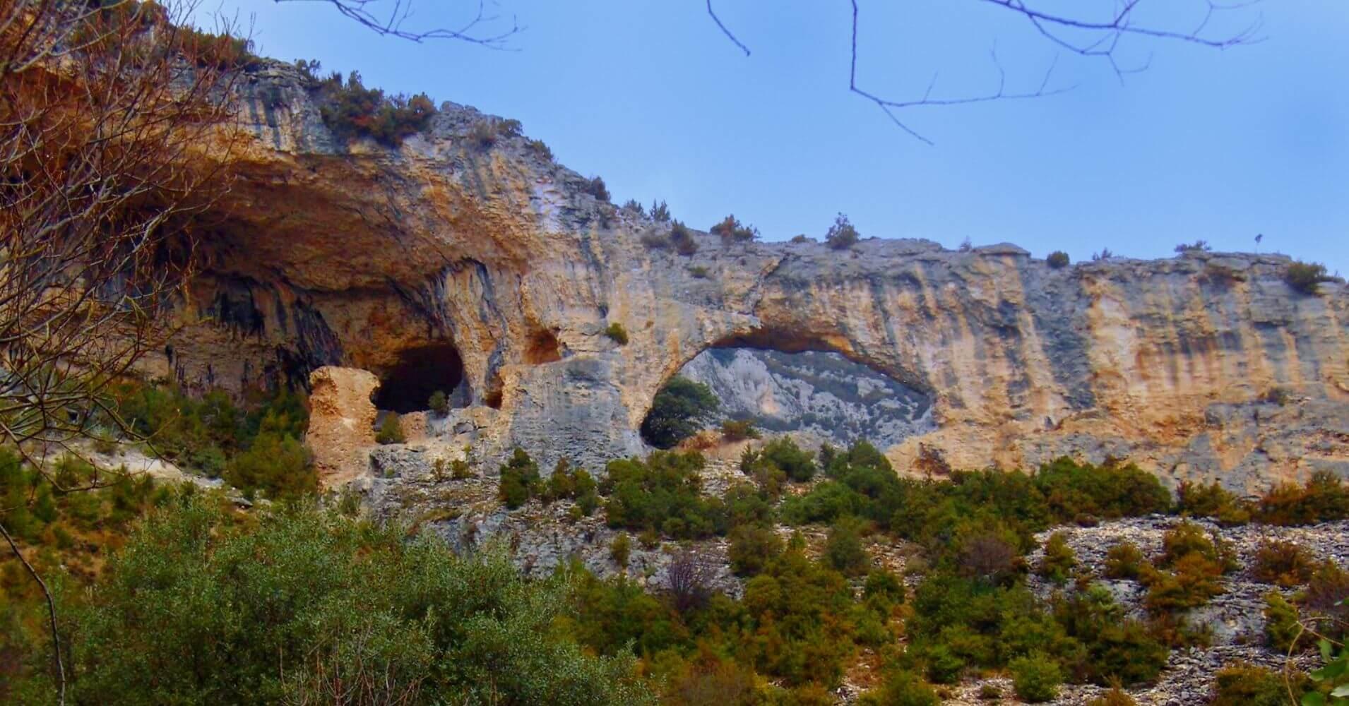 Zona de Escalada del Delfín de Rodellar. Huesca, Aragón.